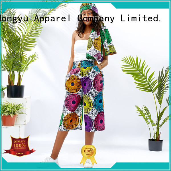 HongYu Apparel women's cotton summer pants service reception