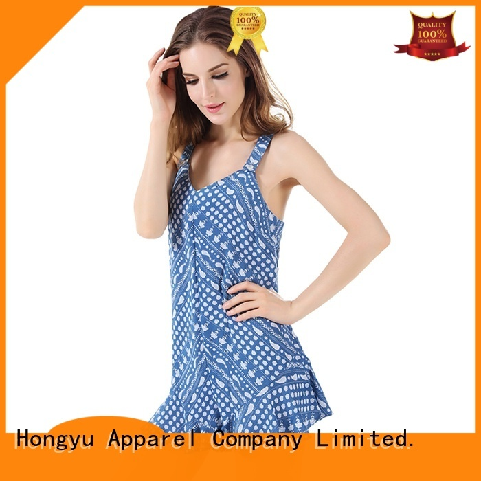 HongYu Apparel oem sexy jumpsuits for women service travel