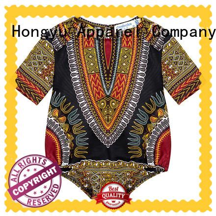 HongYu Apparel 100cotton kids summer clothes design children