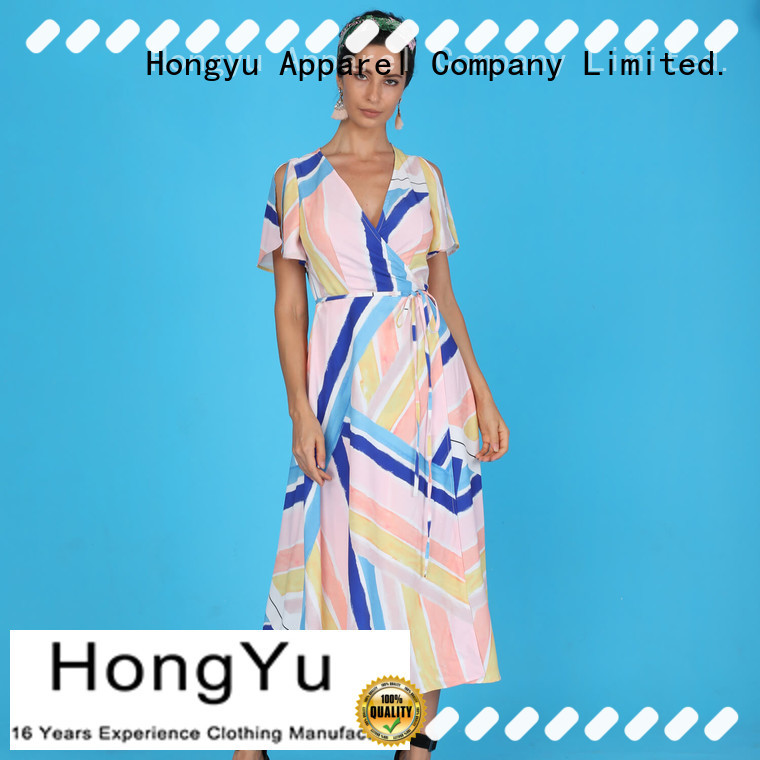 HongYu Apparel maxi african dresses floor reception