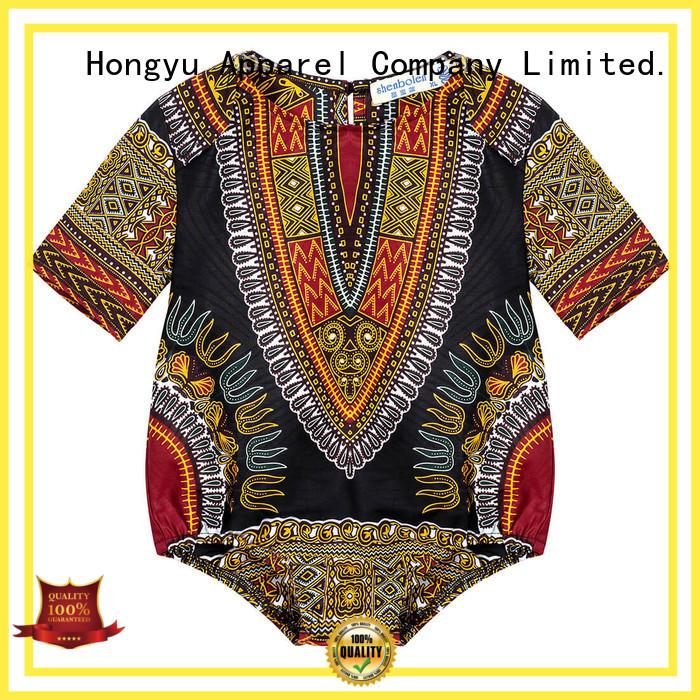 HongYu Apparel toddler girl clothes top girls