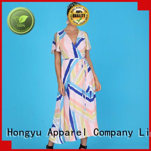 HongYu Apparel midi modern african print dresses floor mall