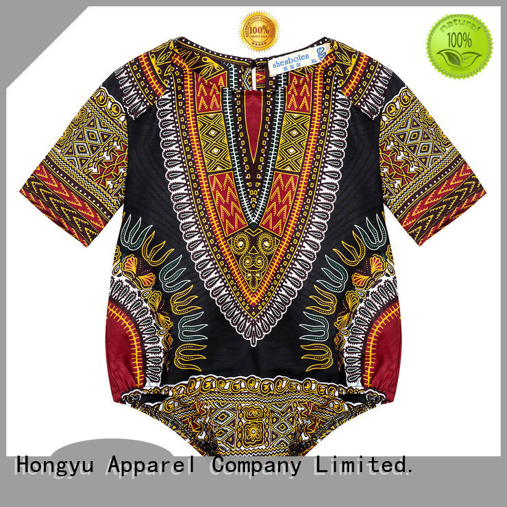 HongYu Apparel personalized rompers for girls kids design boys