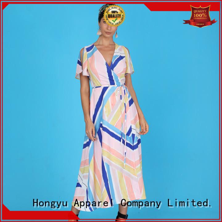 HongYu Apparel backless long african dresses women africa