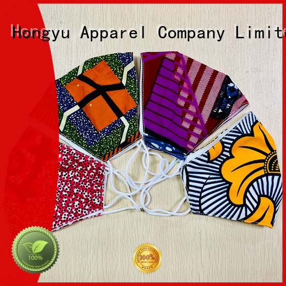 HongYu Apparel custom medical mask for women for hospital