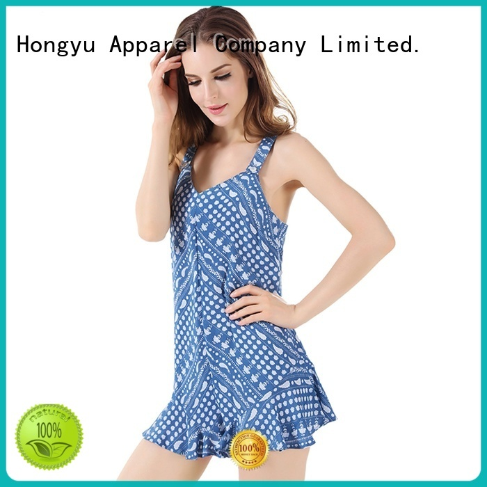 HongYu Apparel short jumpsuit design africa