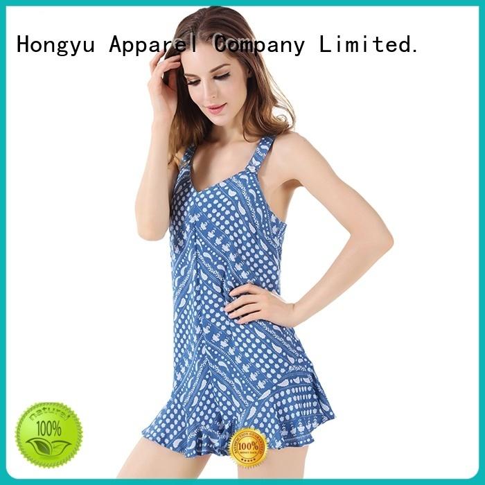 HongYu Apparel short jumpsuit design africa