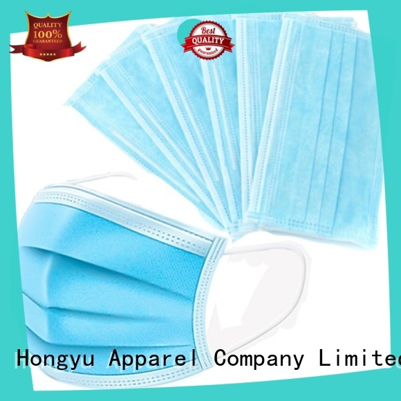 HongYu Apparel disposable mask for women for doctor