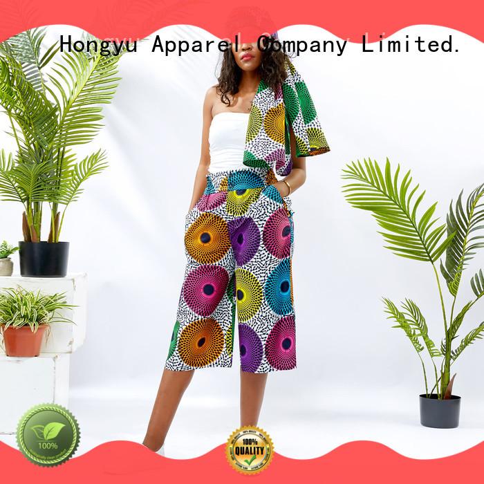 HongYu Apparel womens lounge pants design travel