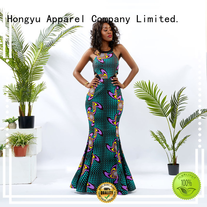 HongYu Apparel elegant dresses for women floor mall