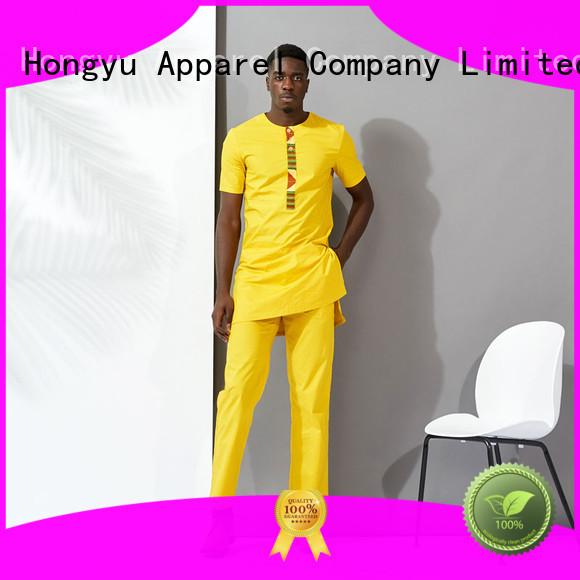 HongYu Apparel mens cotton shorts bottoms man