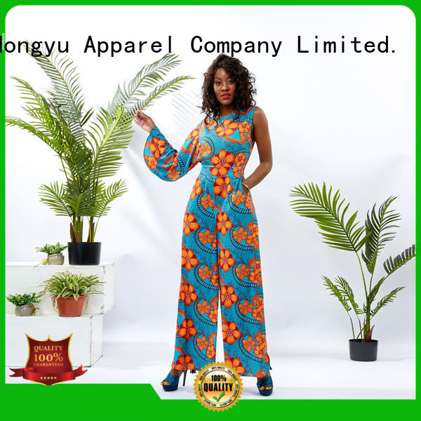 HongYu Apparel soft ladies jumpsuits service africa