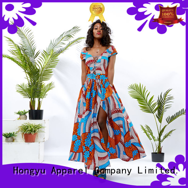 HongYu Apparel elegant dresses for women floor reception