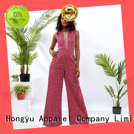 HongYu Apparel women jumpsuit design travel