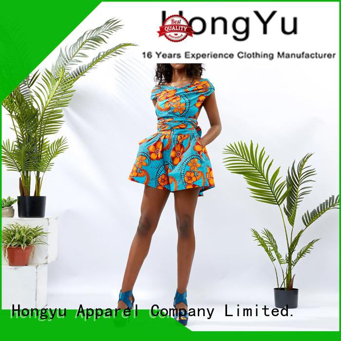 HongYu Apparel customize romper africa