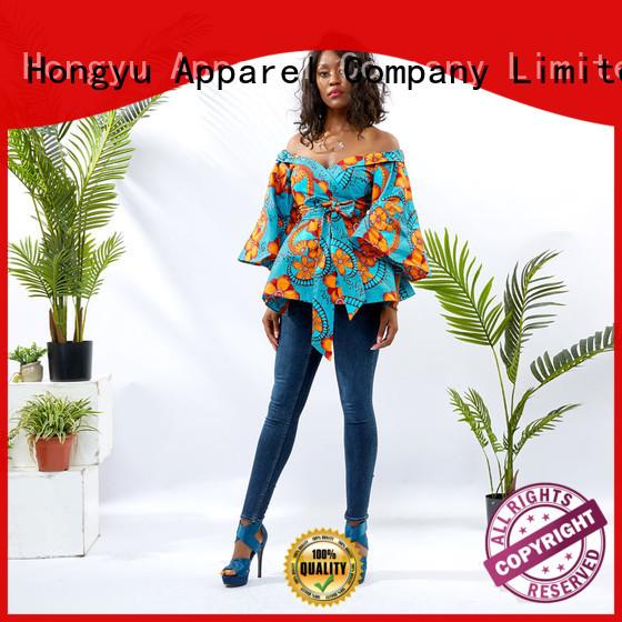HongYu Apparel long tops for women women reception
