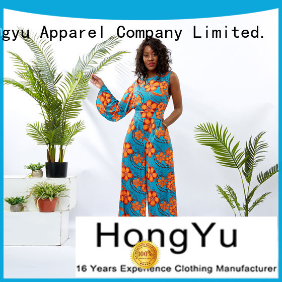HongYu Apparel one piece jumpsuit service women