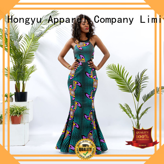 HongYu Apparel slip ladies dress off africa
