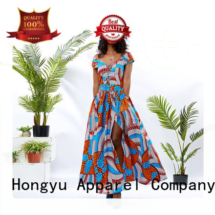 HongYu Apparel design trendy dresses women africa