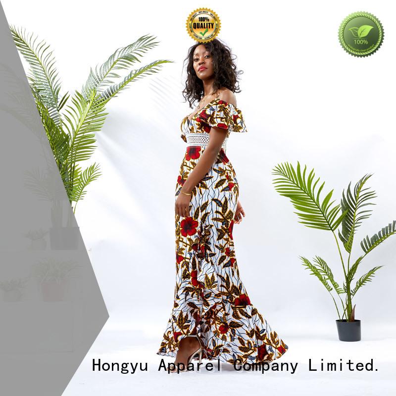HongYu Apparel maxi cotton dress off mall