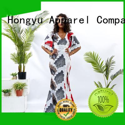 HongYu Apparel lace short african dresses shoulder reception