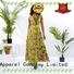 HongYu Apparel design floral maxi dress off reception