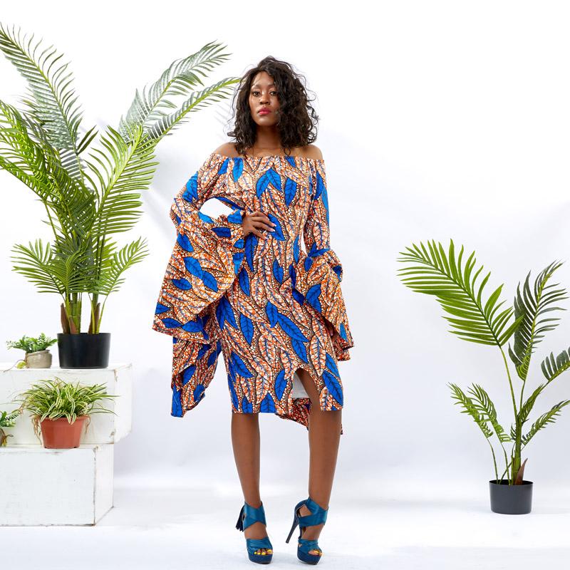 HongYu Apparel african dresses design women mall-1