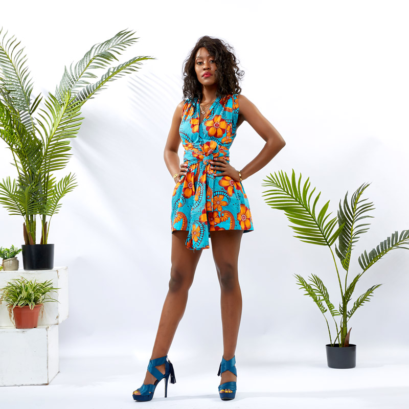 customize summer jumpsuits for women romper africa-1