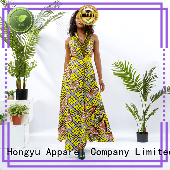 HongYu Apparel ladies party dresses women africa