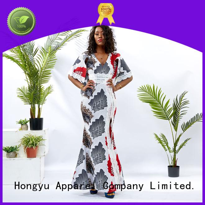 HongYu Apparel long short bodycon dresses shoulder reception
