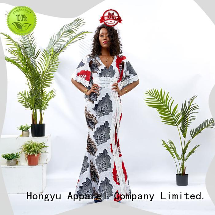HongYu Apparel custom dress women mall