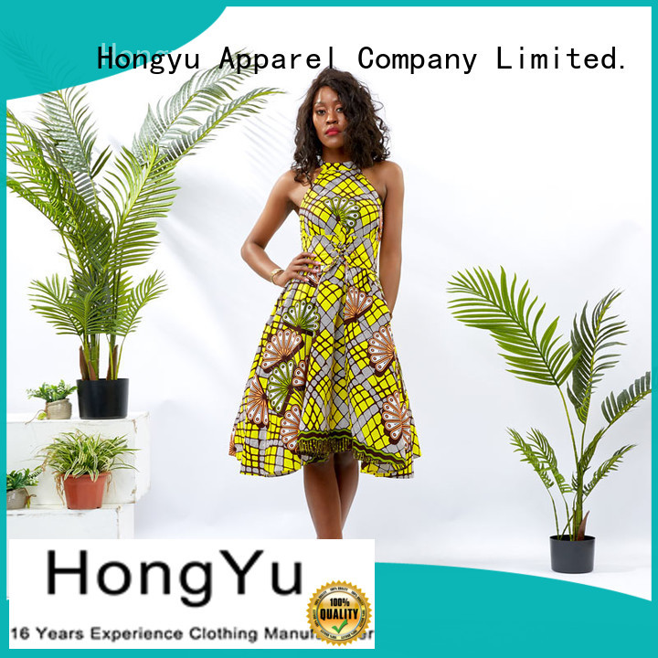 HongYu Apparel beautiful dresses for ladies floor reception