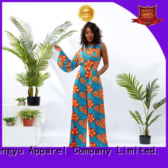 HongYu Apparel women jumpsuit design travel