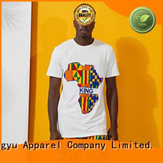 HongYu Apparel custom t shirt design bottoms work