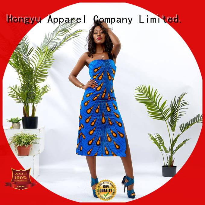 HongYu Apparel trim elegant dresses for women women reception