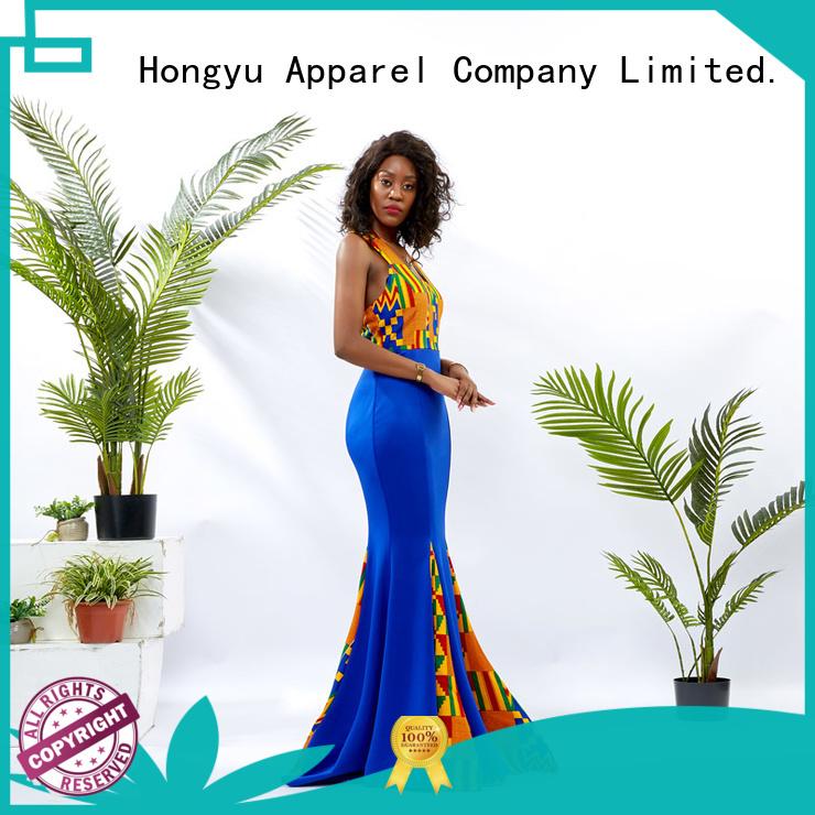 HongYu Apparel cotton dress off africa