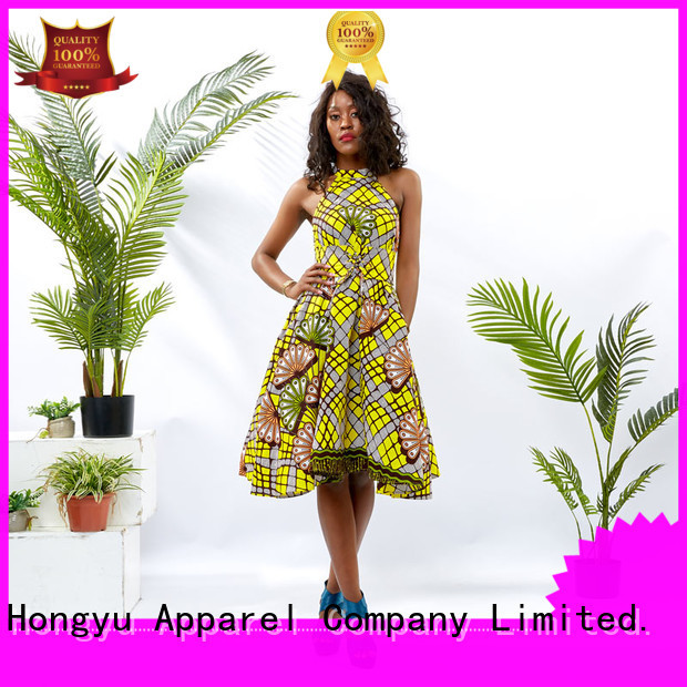 HongYu Apparel classy dresses off africa
