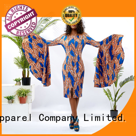 HongYu Apparel wax ladies party dresses shoulder africa