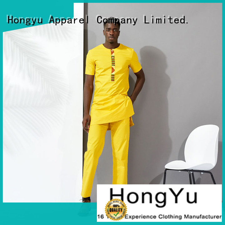 HongYu Apparel mens polo shirts short work
