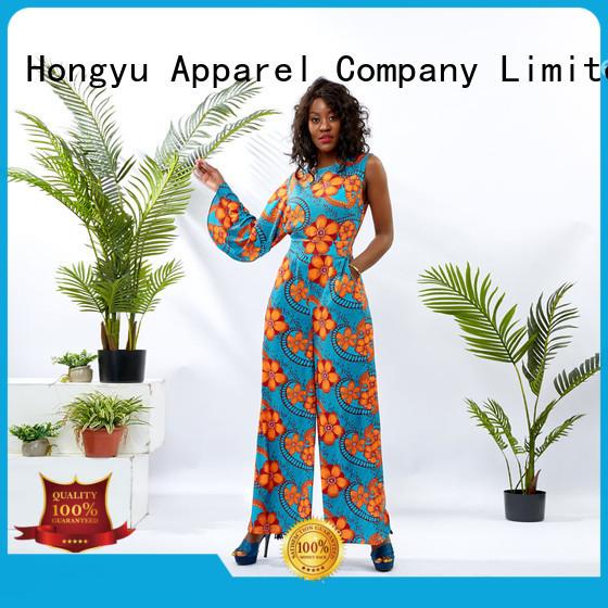HongYu Apparel formal jumpsuits for women service women