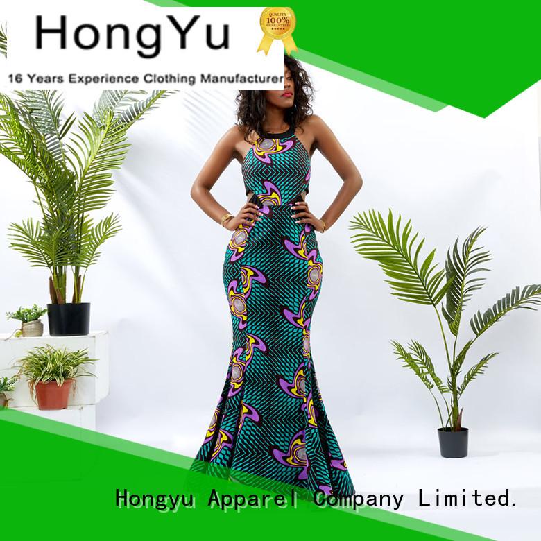 HongYu Apparel modest dresses for women floor mall