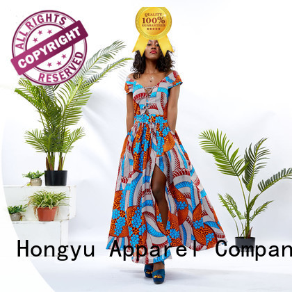 HongYu Apparel best african dress designs floor africa