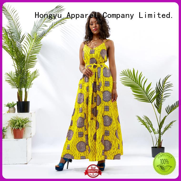 HongYu Apparel custom dress floor africa
