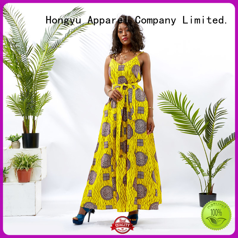 HongYu Apparel custom dress floor africa