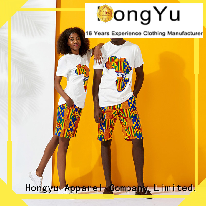 HongYu Apparel quality couple outfits clothes ladies