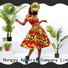 HongYu Apparel african print two piece dresses girls travel