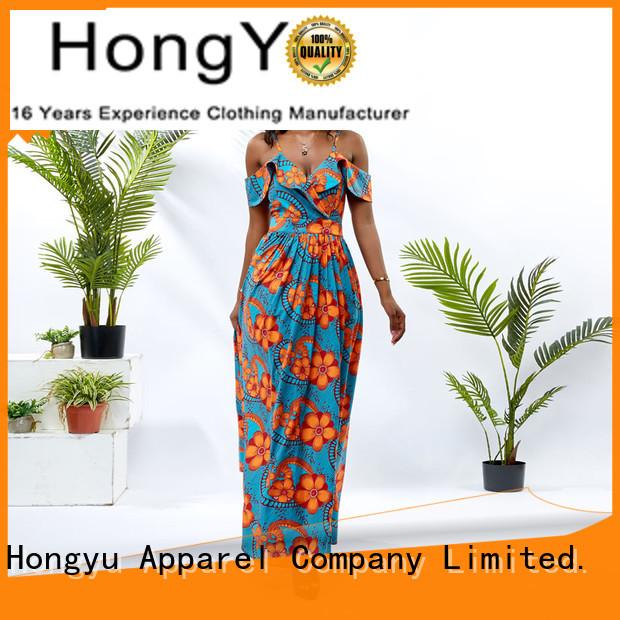 HongYu Apparel wax long bodycon dress off mall