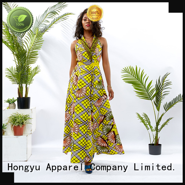 african dresses for ladies shoulder reception HongYu Apparel