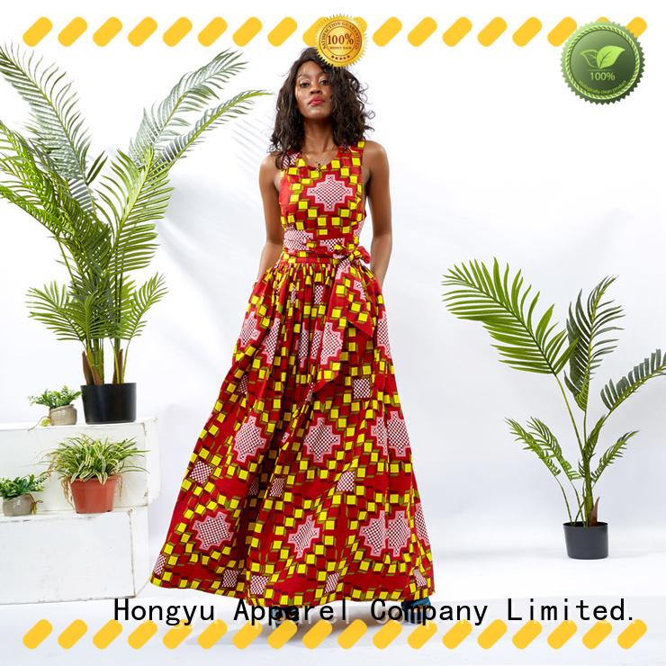 HongYu Apparel modern african dresses floor africa