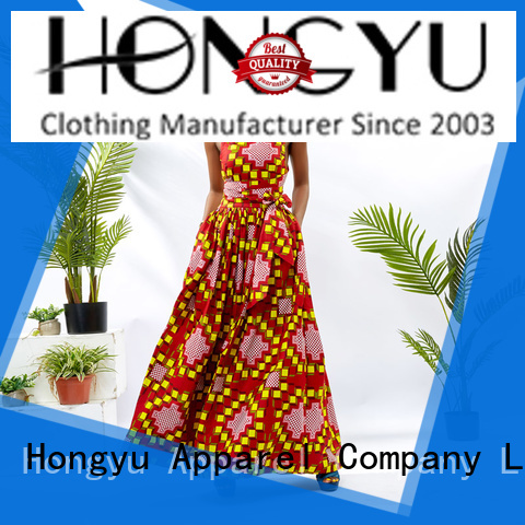 oem african print dresses for ladieswomen reception